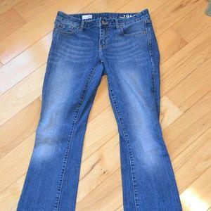 Gap jeans 1969 27 curvy women medium wash 27R